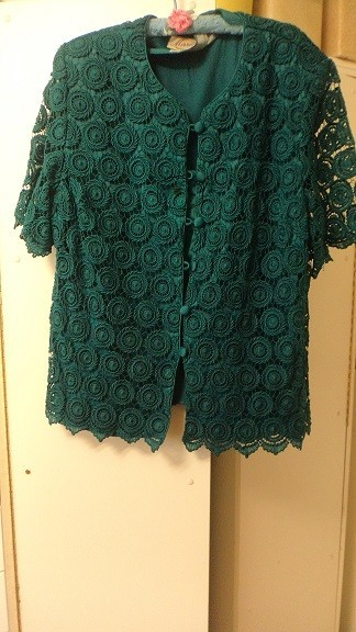 Removing a Stain on a Crochet Top