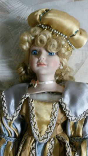 closeup of head