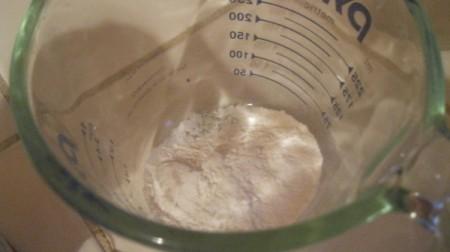 mixing sauce ingredients