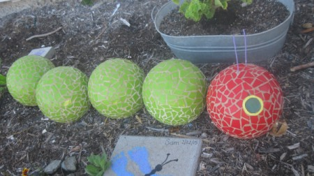 Mosaic Bug Bowling Balls
