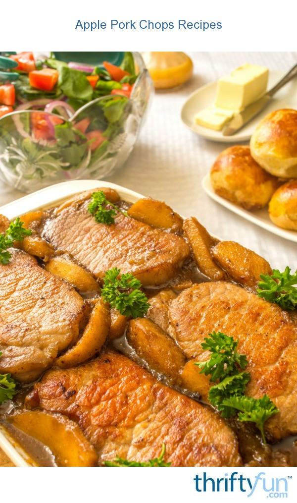how to make apple pork chops