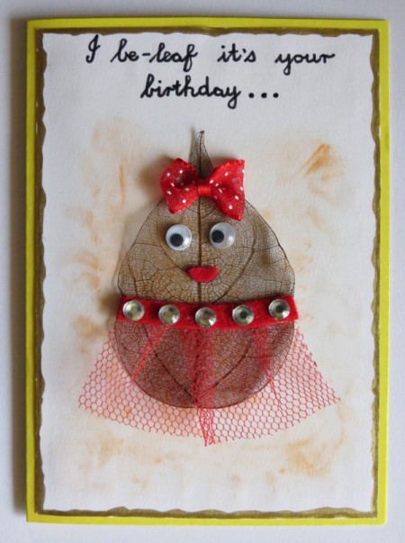 I Be-Leaf It's Your Birthday Card