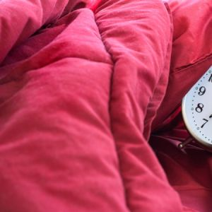 comforter with alarm clock