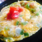 finished omelet