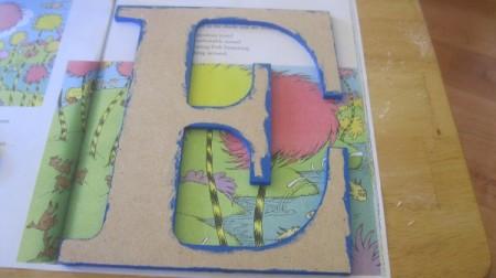 Decorative Decoupaged Letters