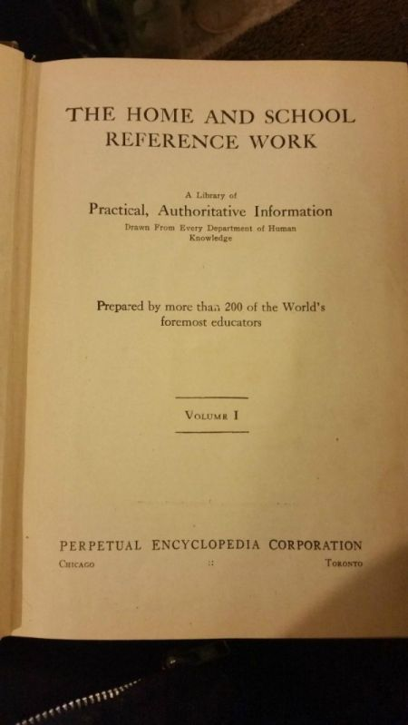 Value of Vintage Reference Books