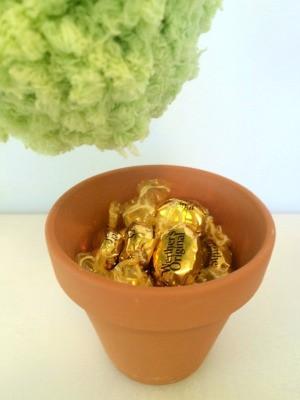 Pom Pom Plant Candy Dish