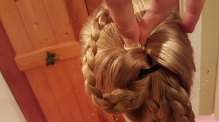 Victorian Braided Up-do
