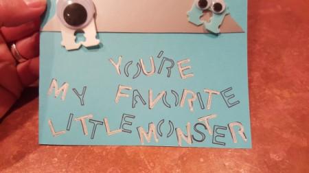 Monster Card