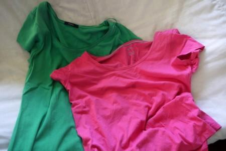 Shabby Chic T-Shirt Scarf