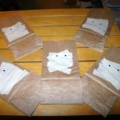Halloween Mummy Gift Bags