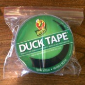 Store Duct Tape in Baggies