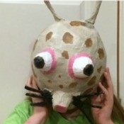 Making Paper Mache Masks