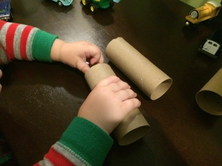 TP Tube Tunnels for Toy Cars