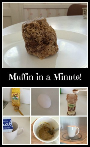 Making a Muffin in a Minute