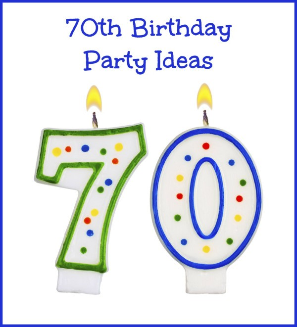 70th birthday party ideas thriftyfun for 70th birthday party decoration ideas