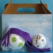 Melting Snowman Gift Box