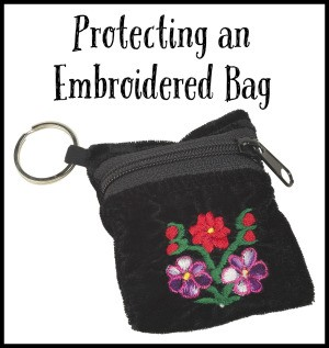Protecting an Embroidered Bag