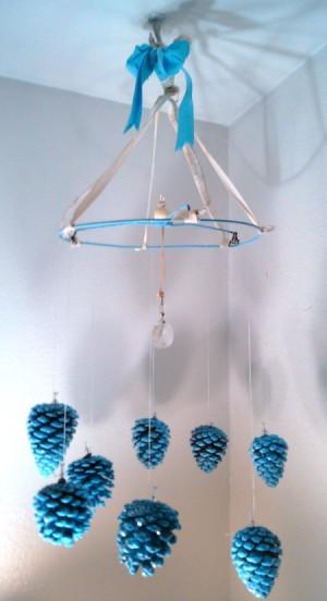 finished chandelier