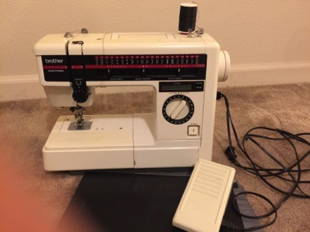 Model Number of Brother Sewing Machine