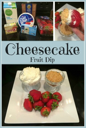 cheesecake fruit dip recipes