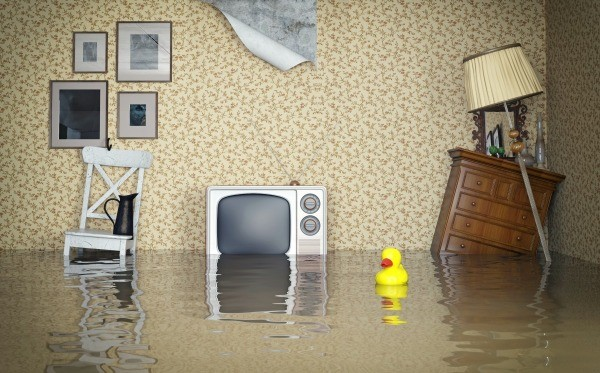 Water Damaged Wood Furniture in Flooded Room. Repairing Water Damaged Wood Furniture   ThriftyFun