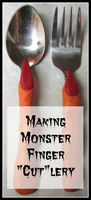 "Making Monster Finger ""Cut""lery"