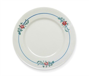 Old dinner plate.