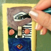 Picasso Light Switch Plate Cover
