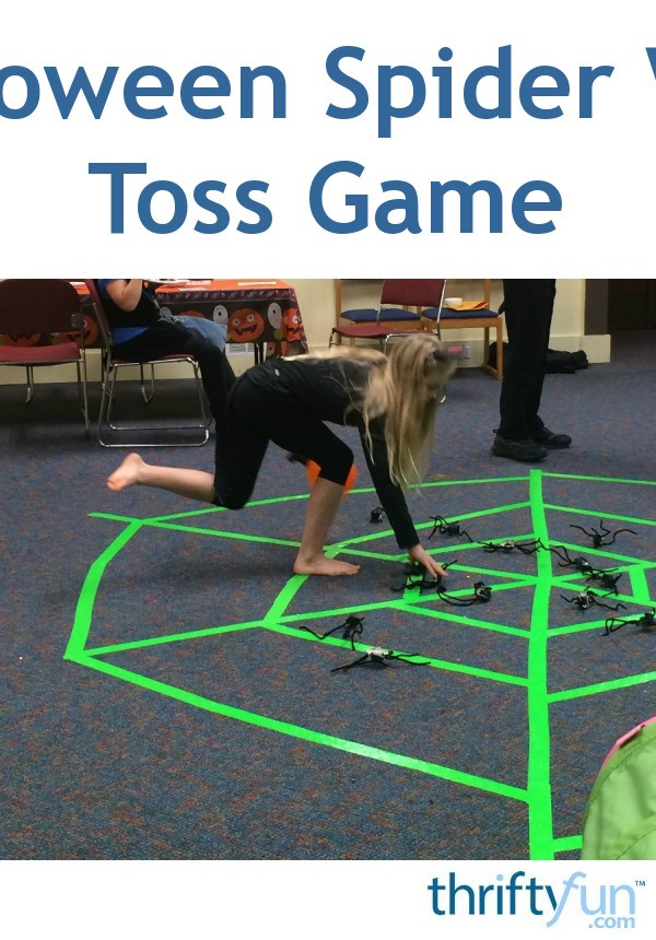 Spider Web Halloween Game ThriftyFun