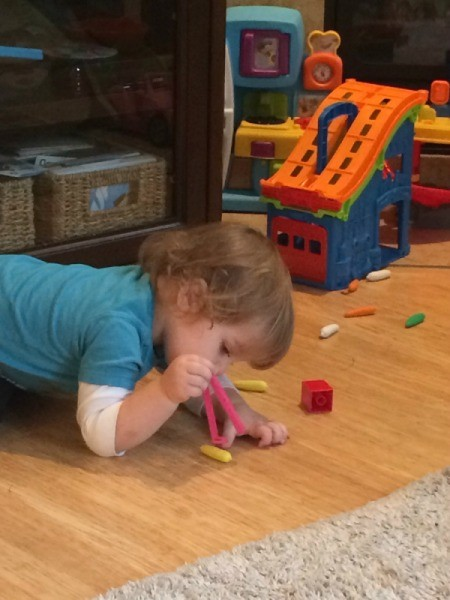 Toddler Tweezer Pick Up Game
