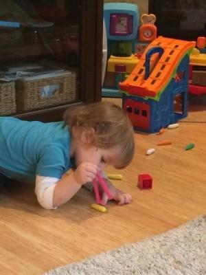 Toddler Tweezer Pick Up Game
