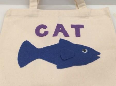 Cat Food Trick-or-Treat Bag