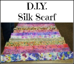 Design Your Own Silk Scarf