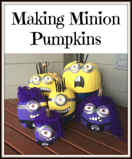 Making Minion Pumpkins