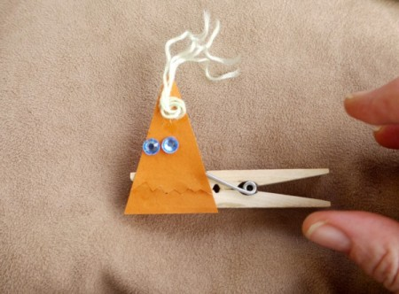 Easy Peg Puppets