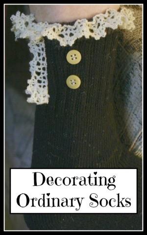 Decorating Ordinary Socks