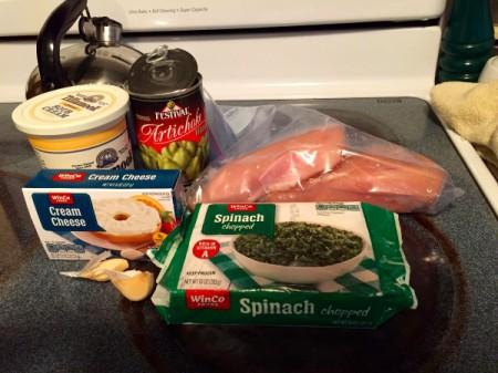 Crock Pot Spinach Artichoke Chicken