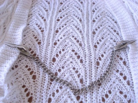 Vintage Cardigan Guard (Sweater Chain)