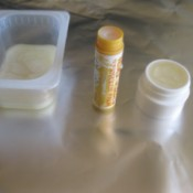 containers of lip balm