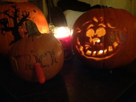 Family Pumpkins 2015