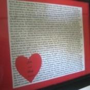 Romantic Framed Wedding Song Lyrics