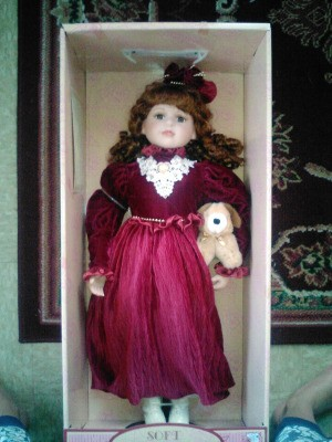 DanDee doll in box