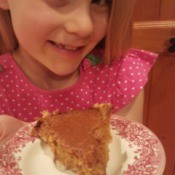 Homemade Rustic Pumpkin Pie