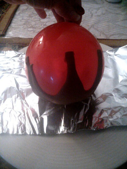 Chocolate Balloon Bowl