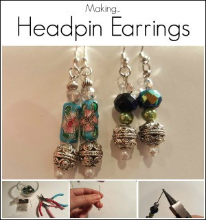 Making Headpin Earrings