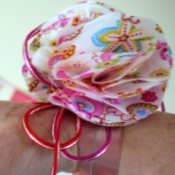 How to Make a Fabric Wrist Corsage