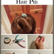 Making a Decorative Hair Pin