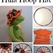 Making a Hula Hoop Hat