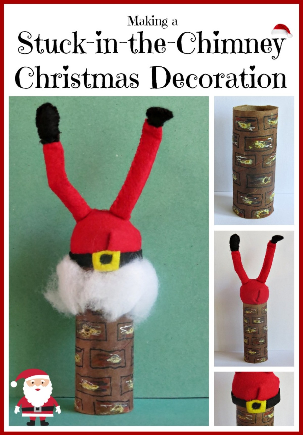 b293083113483 Making a Stuck-in-the-Chimney Christmas Decoration
